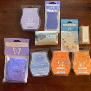 Lot of NINE Scentsy Items NIB